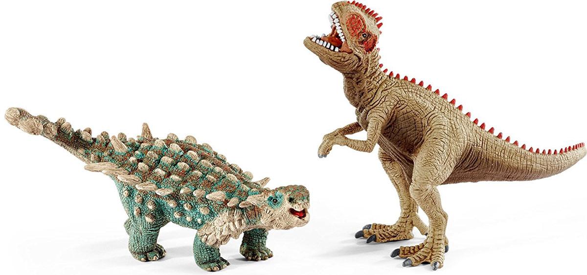 Schleich Набор фигурок Сайшания и Гиганотозавр schleich игровой набор пещера со львом