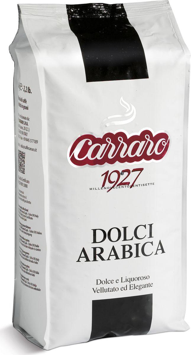 Carraro Dolci Arabica кофе в зернах, 1 кг12328675Кофе Карраро Долче Арабика - натуральный жареный высший сорт, в зернах. Средняя обжарка. Арабика - 100%
