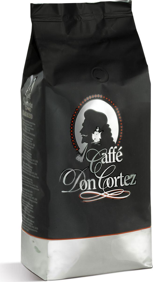 Carraro Don Cortez Black кофе в зернах, 1 кг0120710Кофе Карраро Дон Кортез Блак - натуральный жареный высший сорт, в зернах. Средняя обжарка. Арабика - 80%, Робуста - 20%.