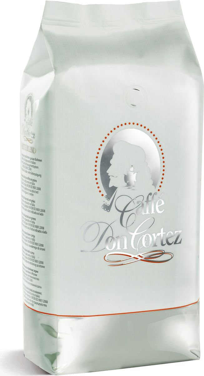 Carraro Don Cortez White кофе в зернах, 1 кг12328675Кофе Карраро Дон Кортез Вайт - натуральный жареный высший сорт, в зернах. Средняя обжарка. Арабика - 100%