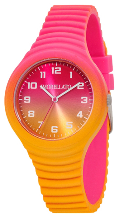 Наручные часы женские Morellato, цвет: розовый. R0151114585BM8434-58AEНаручные часы Morellato, корпус и задняя крышка из стали