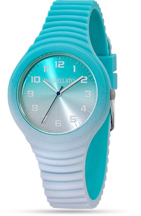 Наручные часы женские Morellato, цвет: голубой. R0151114588BM8434-58AEНаручные часы Morellato, корпус и задняя крышка из стали