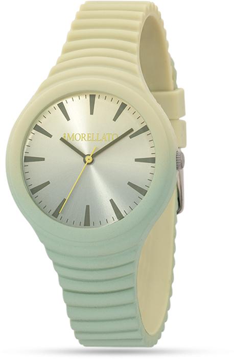Наручные часы женские Morellato, цвет: светло-зеленый. R0151114592BM8434-58AEНаручные часы Morellato, корпус и задняя крышка из стали