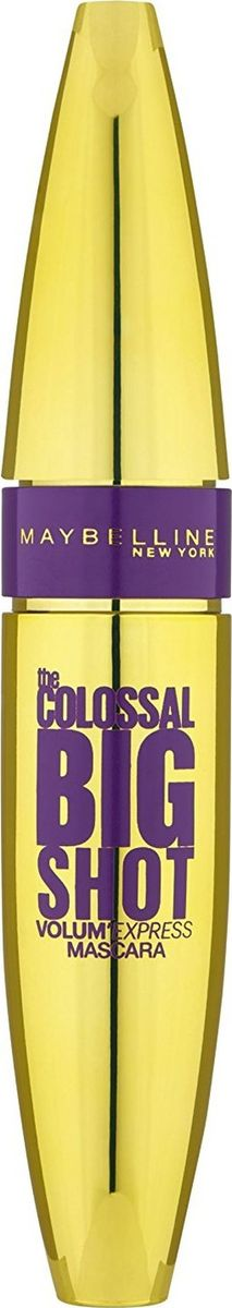 Maybelline New York Тушь для ресниц The Colossal Big Shot, черный, 10,7 мл cutting die flower metal steel stencils scrapbooking cutting dies scrapbooking dies embossing folder big shot troqueles big shot
