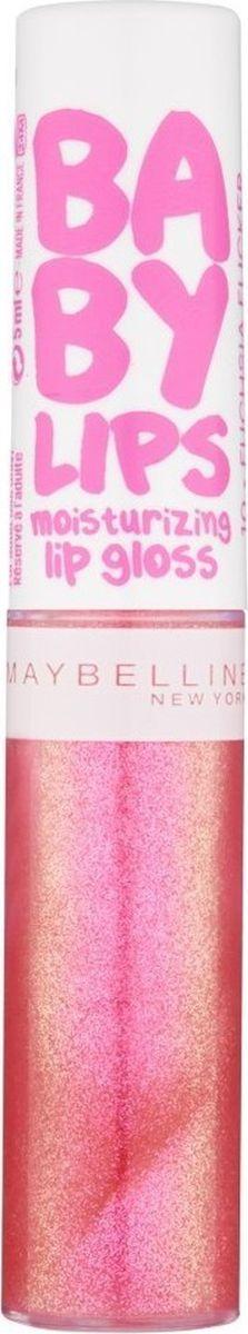 Maybelline New York Увлажняющий блеск для губ Baby Lips Gloss, оттенок 05, Жизнь в розовом, 5 мл5010777139655Блески имеют комфортную нелипкую текстуру и заботятся о ваших губах в течении дня.