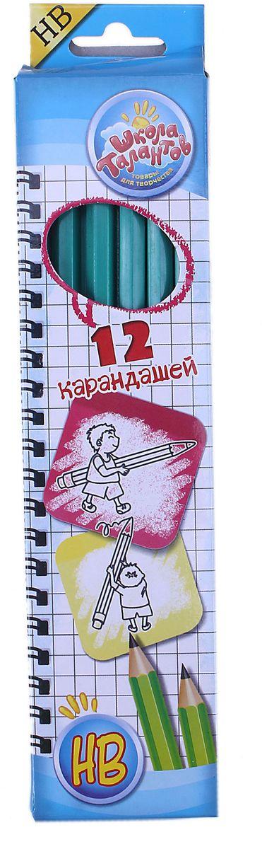 Школа талантов Набор карандашей чернографитных с ластиком HB 12 шт72523WDПростые чернографитные карандаши – основа любого начинания. Что бы вы ни делали – рисунки, наброски, пометки – карандаш здесь становится незаменимым инструментом. Очень важно чтобы грифель был качественный, не оставлял неряшливых и неопрятных следов, не пачкал руки и не ломался. Набор карандашей чернографитных с ластиками 12шт НВ – прекрасное сочетание выгодной цены и высочайшего качества. Прочный графитовый стержень не ломается и не крошится, а деревянный корпус легко затачивается.