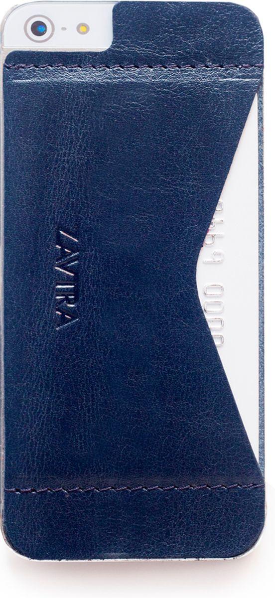 Кошелек-накладка для телефонаZavtra, цвет: темно-синий. zav02i5bluCRUS114-BДеньги изменились, а кошельки - нет. Сегодня не нужно носить с собой «котлеты» наличных или стопки кредитных карт, а большинство платежей можно сделать с помощью мобильного телефона. Кошелек-накладка Zavtra - кошелёк, который отвечает запросам современного мира. Оригинальный формат продиктован изменившимся миром. Телефон и платежи теперь становятся по-настоящему неразделимы. Aинансы и смартфон соединились в оригинальном и супер-удобном кошельке-накладке Zavtra.В накладке используется специальный съемный cлой, очень устойчивый к износу. Вам необходимо лишь отделить верхнюю пленку и приклеить накладку к задней части телефона. Съемная поверхность может быть отклеена от девайса до пяти раз, не оставляет следов. После чего производители рекомендуют провести замену слоя.
