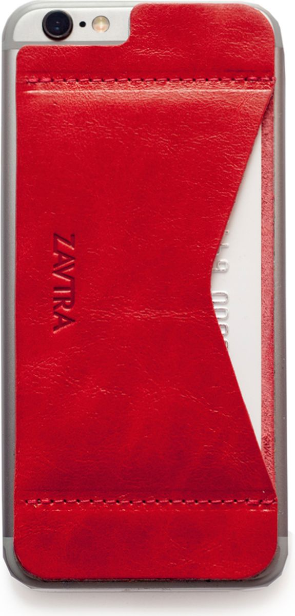 Кошелек-накладка Zavtra, цвет: красный. zav02i6redJC50-63278Деньги изменились, а кошельки - нет. Сегодня не нужно носить с собой котлеты наличных или стопки кредитных карт, а большинство платежей можно сделать с помощью мобильного телефона. Кошелек-накладка Zavtra - кошелёк, который отвечает запросам современного мира. Оригинальный формат продиктован изменившимся миром. Телефон и платежи теперь становятся по-настоящему неразделимы. Финансы и смартфон соединились в оригинальном и супер-удобном кошельке-накладке Zavtra.В накладке используется специальный съемный cлой, очень устойчивый к износу. Вам необходимо лишь отделить верхнюю пленку и приклеить накладку к задней части телефона. Съемная поверхность может быть отклеена от девайса до пяти раз, не оставляет следов. После чего производители рекомендуют провести замену слоя.