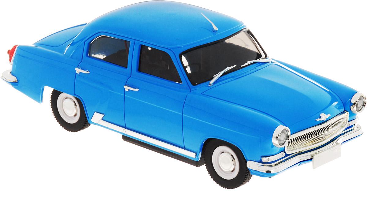 Pilotage Радиоуправляемая модель Волга ГАЗ21 цвет голубой хочу автомобиль б у в волгограде газ 3110 или 3105