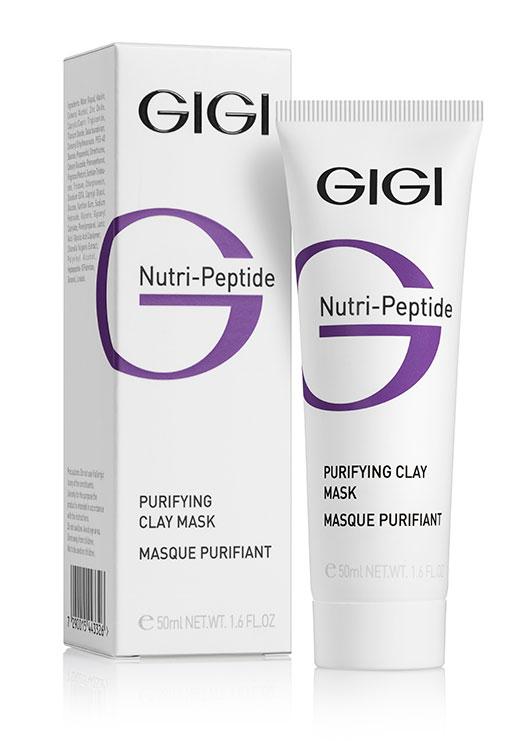 GIGI Очищающая глиняная маска для жирной кожи Nutri-Peptide Purifying Clay Mask Oily Skin, 50 мл72523WDГлина, входящая в состав маски, глубоко проникает в кожу и очищает ее без агрессивного воздействия. Мульти-пептидный комплекс впитывает продукты метаболизма и себум, регулирует выработку кожного жира, способствует увлажнению и осветлению тона кожи, сужает поры, повышает эластичность и упругость, оказывает легкий лифтинговый эффект, придает коже матовость. После применения маски кожа снова приобретает здоровый вид и в течение длительного времени выглядит чистой и свежей. Может применяться самостоятельно либо в комплексе с другими продуктами линии. Активные ингредиенты: 50 PHOTOGLOW, LARACARE A200, триклозан, глюкоза, молочная кислота, гликолевая кислота.