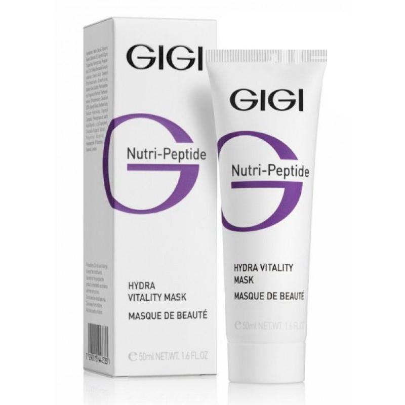 GIGI Пептидная увлажняющая маска красоты Nutri-Peptide Hydra Vitality Beauty Mask, 50 млFS-00897Придает коже бархатистость и гладкость, возвращает сияние молодости и здоровья.
