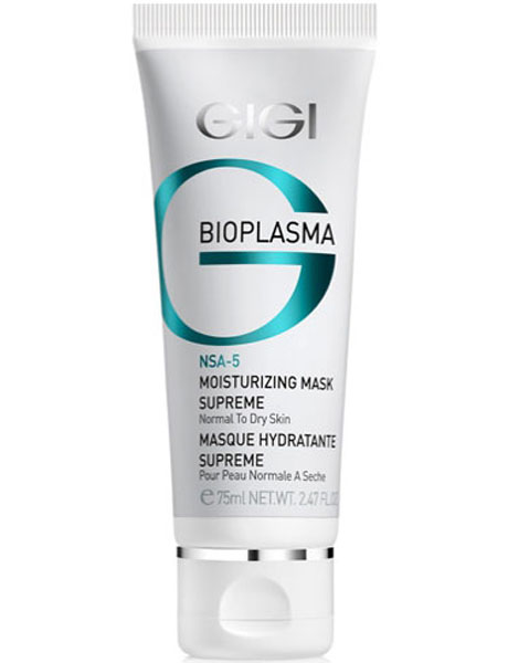 GIGI Маска увлажняющая энергетическая Bioplasma Moisturizing Mask Supreme, 75 мл72523WDМаска богатой консистенции увлажняет кожу и сразу же создает комфортное ощущение. Предназначена для интенсивного обновления и увлажнения уставшей, безжизненной кожи. Маска усиливает синтез коллагена, обладает влагу удерживающим свойствами. Нанесенная перед торжественным событием, маска сохранит безупречность овала лица и макияжа в течение длительного времени. Активные компоненты: Масло Ши, экстракт Гаммамелиса, экстракт Криспа, гидроксиэтил мочевина, токоферола ацетат, Сукцинат Кастор, кальприан, ламинарган, кодиблан. Результат: После применения кожа выглядит отдохнувшей, более эластичной и свежей, выравнивается текстура и цвет лица.