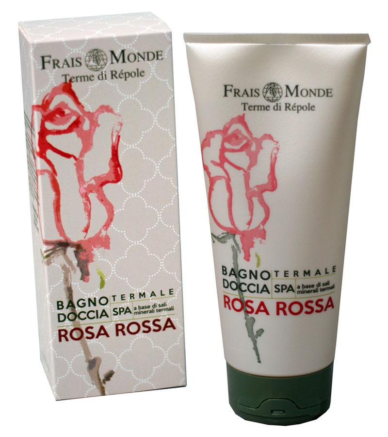 Frais Monde Гель для душа - Пена для ванны с ароматом красной розы, 200 мл270163Нежная и мягкая пена для расслабляющей ванны обволакивает кожу и оставляет приятный аромат красной розы. Благодаря мягкой формуле можно использовать в качестве геля для душа. Не содержит парабенов, ПЭГ и никеля.