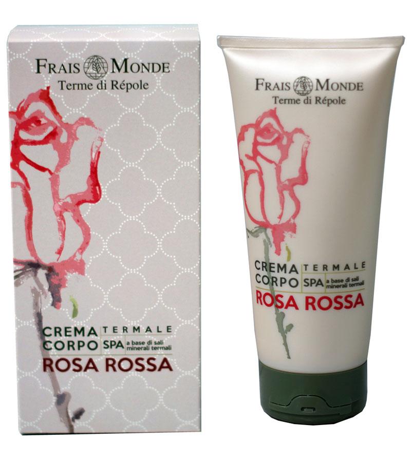 Frais Monde Крем для тела с ароматом красной розы, 200 мл крем для тела цветы граната 200мл frais monde