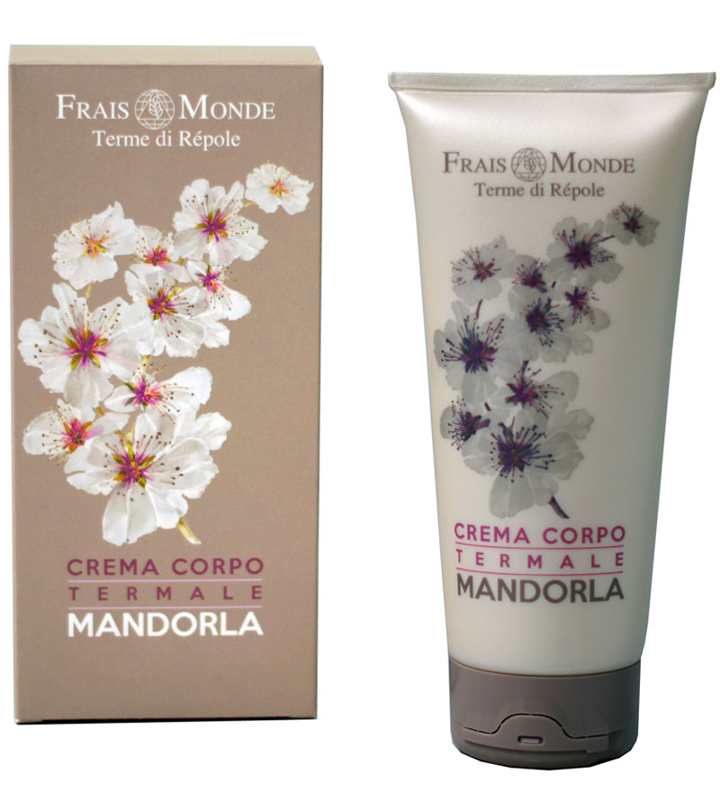 Frais Monde Крем для тела с ароматом миндаля, 200 мл крем для тела цветы граната 200мл frais monde
