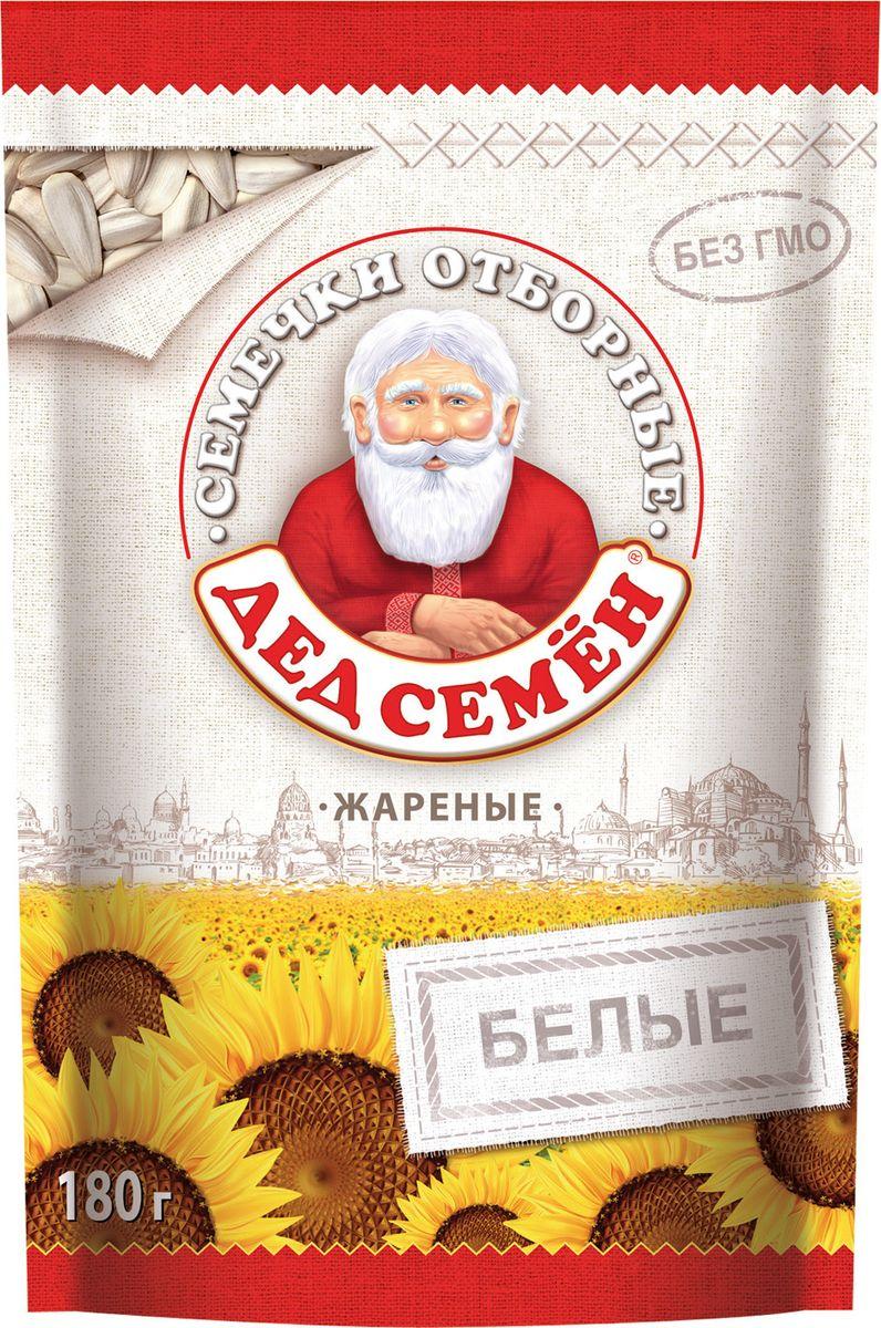 Дед Семен семечки белые соленые, 180 гУТ040810343Семечки отборные подсолнечника жареные соленые.