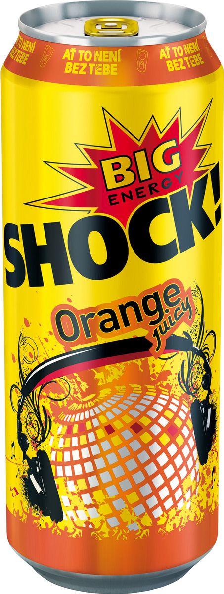 Bigshock! Orange энергетический напиток, 0,5 л0120710Bigshock! - энергия со вкусом. Освежающий ароматный напиток, содержащий натуральный кофеин, таурин, витамины и 10% фруктового сока. Умеренная газация. Долгое послевкусие. Неподражаемый вкус. Взбудораживающий эффект. Снимает усталость и освежает внимание. Подходит для увеличения физической активности. Употреблять охлажденным!