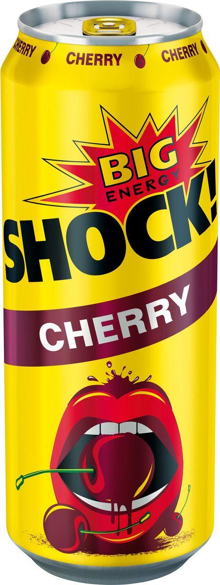 Bigshock! Cherry энергетический напиток, 0,5 л0120710Bigshock! - энергия со вкусом. Освежающий ароматный напиток, содержащий натуральный кофеин, таурин, витамины и 10% фруктового сока. Умеренная газация. Долгое послевкусие. Неподражаемый вкус. Взбудораживающий эффект. Снимает усталость и освежает внимание. Подходит для увеличения физической активности. Употреблять охлажденным!
