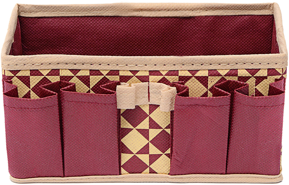 Органайзер Homsu Bordo, для украшений и мелочей, 20 х 10 х 10 см28907 4Универсальная коробочка для хранения канцелярии, бижутерии, косметики. 200х100х100