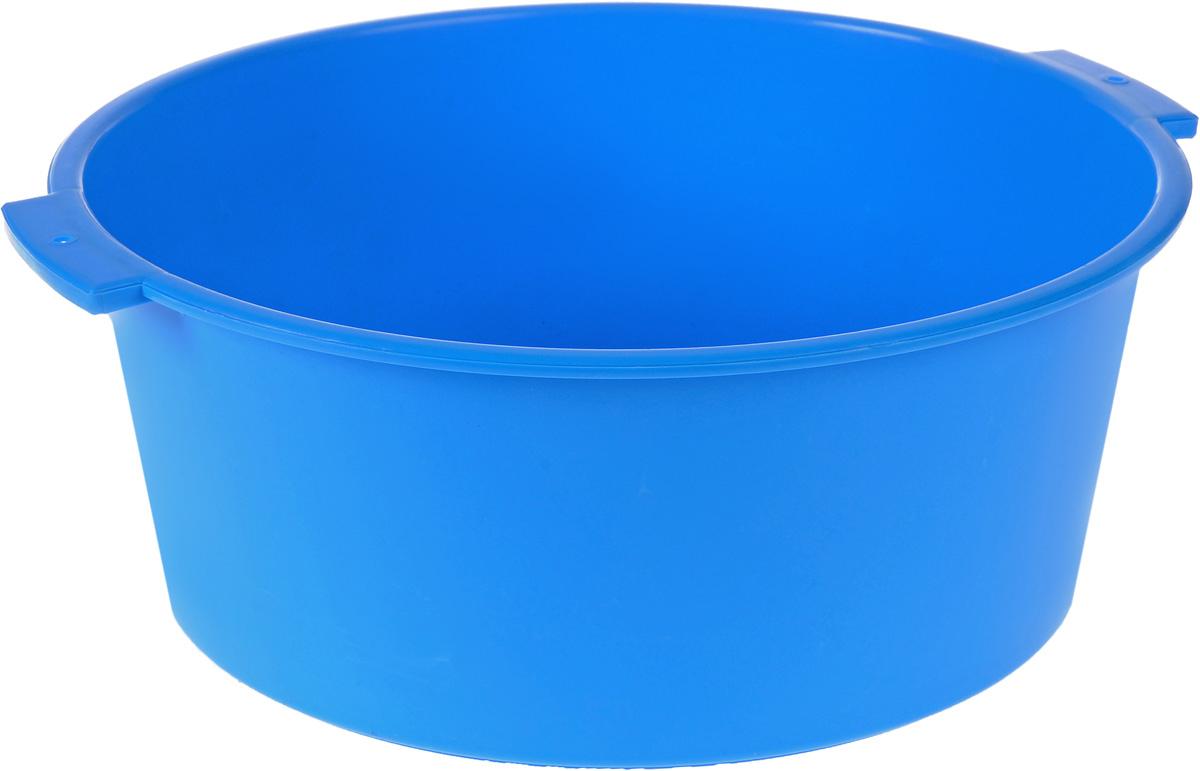 Таз Крепыш, цвет: голубой, 15 л391602Таз Крепыш выполнен из прочного цветного пластика. Он предназначен для стирки и хранения разных вещей. По бокам имеются удобные ручки, которые обеспечивают надежный захват. Таз пригодится в любом хозяйстве.Размер: 44 см х 42 см х 17 см. Объем: 15 л.