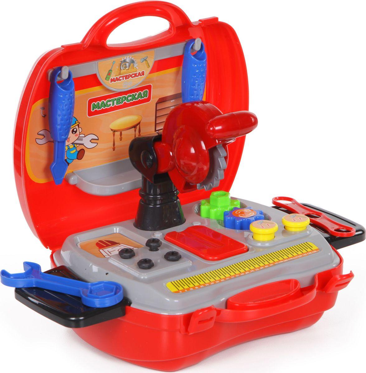Yako Игровой набор Мастерская 36 предметов в чемоданчике yako игровой набор гараж 4 уровня y3941870