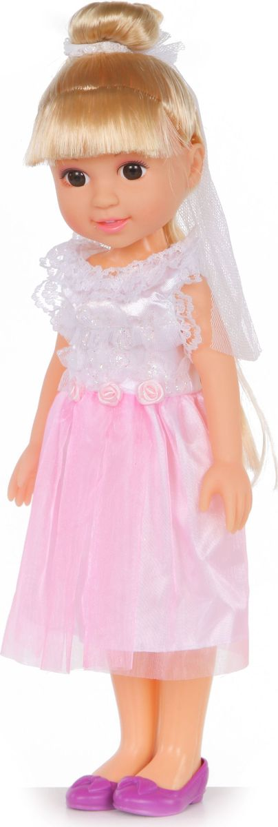 Yako Кукла Jammy Невеста блондинка цвет платья белый розовый кукла yako кукла jammy m6306