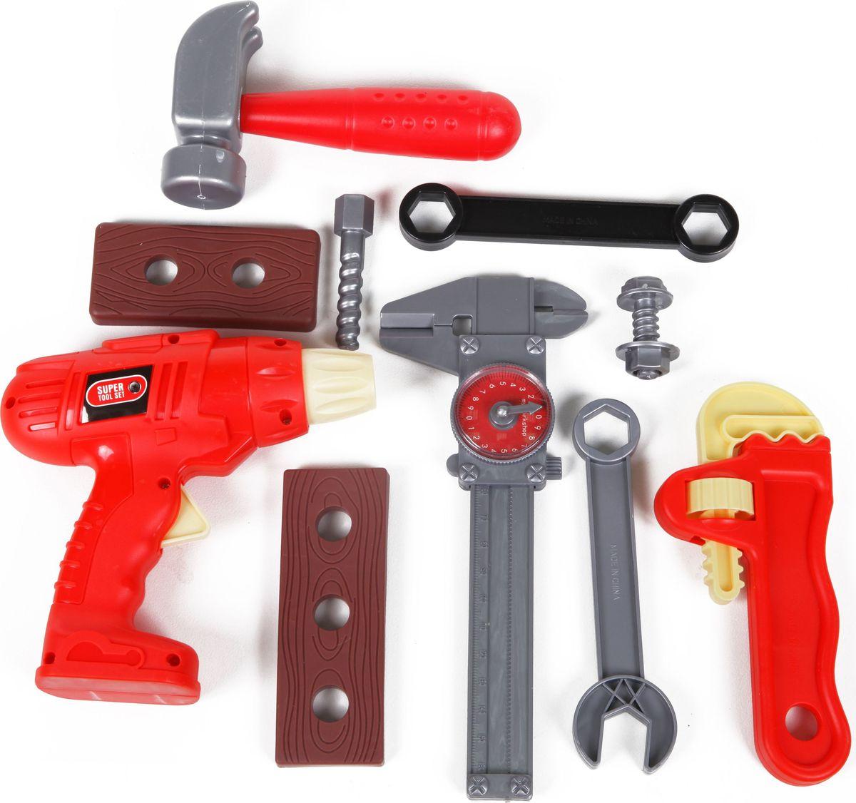 Yako Игрушечный набор маленького строителя Tool Set Y12613033  игрушечные инструменты pilsan инструменты tool set