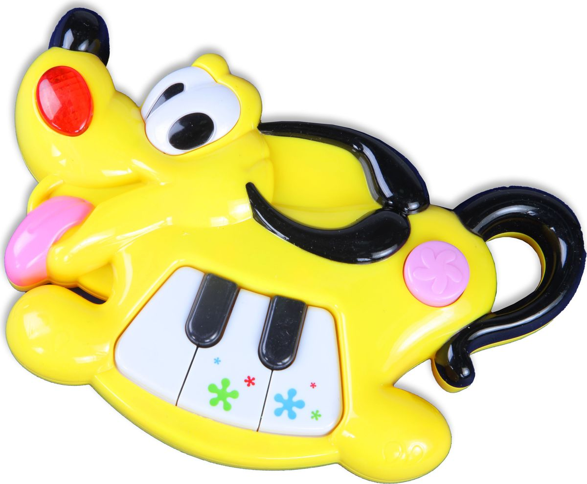 Huile Toys Музыкальный инструмент для малышей Пианино Собачка Y1567250