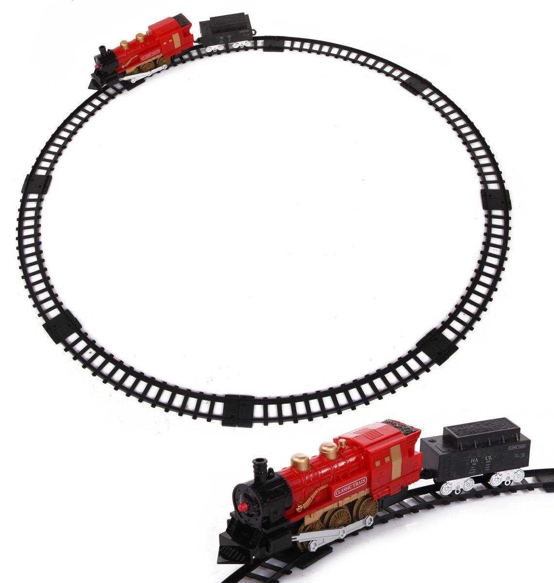 Yako Железная дорога Классический поезд цвет локомотива красный