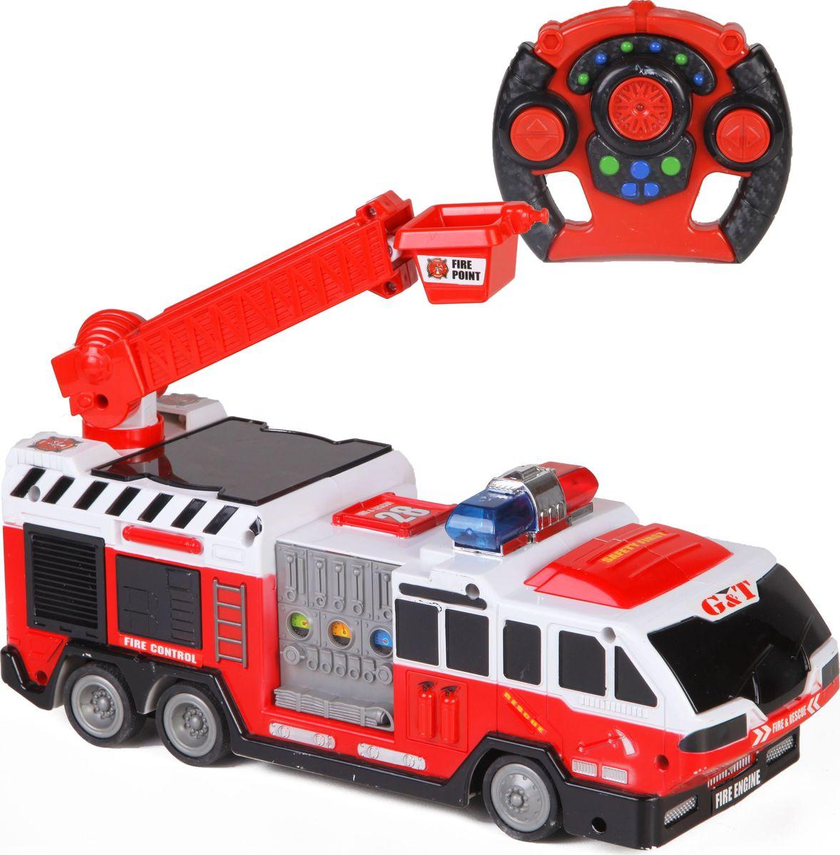 Yako Пожарная машина на радиоуправлении цвет красный белый Y18743069