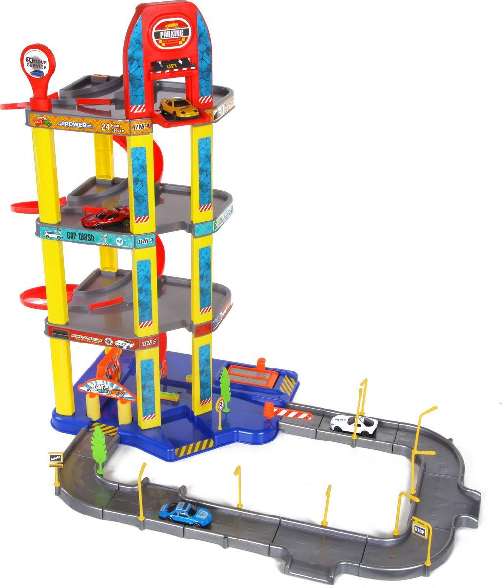 Yako Игровой набор Гараж 4 уровня Y3941870 - Транспорт, машинки