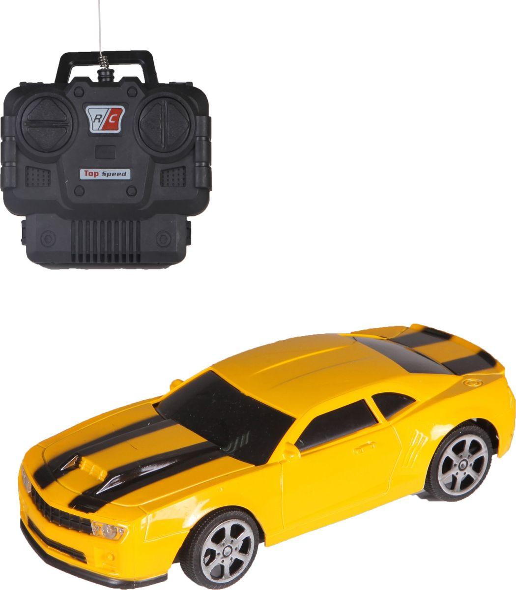 Машина на радиоуправлении Yako обязательно понравиться вашему малышу!Машина на радиоуправлении Yako работает на частоте 27 MHz и имеет 2 канала связи. Машинка движется вперед - прямо, а движение назад - с поворотом.Такая машинка будет отличным подарком вашему мальчику на любой праздник!Машинка работает от 4 батареек 1,5V типа АА (не входят в комплект).Для работы пульта управления необходимо купить 2 батарейки напряжением 1,5V типа АА (не входят в комплект).