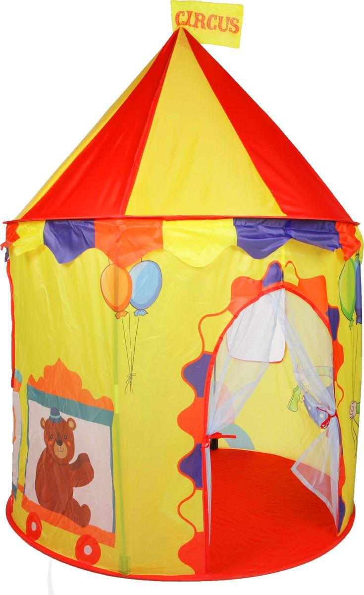 Yako Палатка для игр Цирк цвет красный желтый