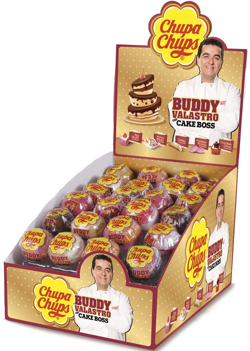 Chupa Chups XXL Petit карамель ассорти, 24 шт по 29 г8253275Новый Chupa-Chups XXL с незабываемыми и любимыми вкусами тортиков, пирожных и капкейков.