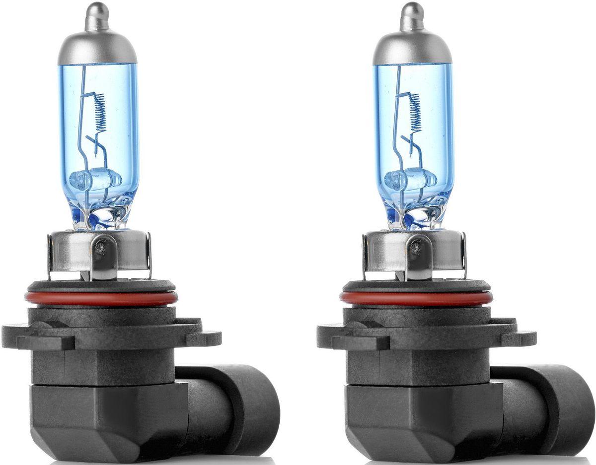 Лампа автомобильная галогенная Clearlight HB4 XenonVision, 2 штS03301004XenonVision. Цветовая температура 6000К. В колбе используется уникальная ксеноновая смесь высокого давления, что позволяет сделать нить накала тоньше и длиннее. Цвет света распределен от белого по центру фары к насыщенно-белому в середине и слегка с голубым оттенком цвета к краю пучка света.