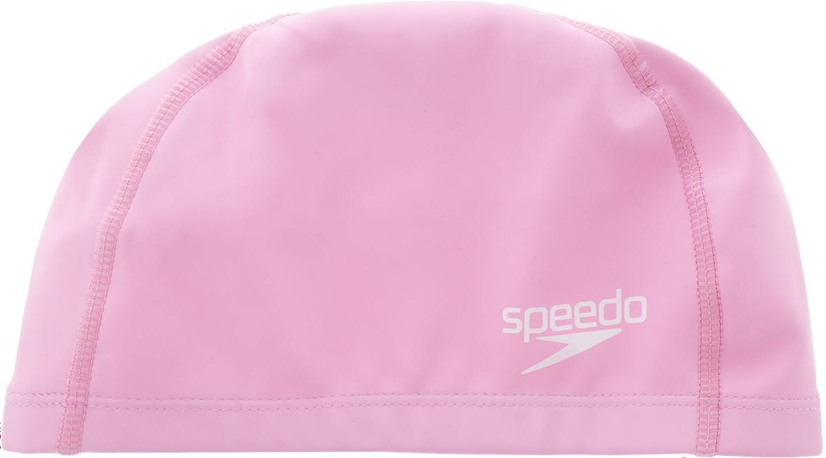 Шапочка для плавания Speedo Ultra Pace Cap, цвет: розовый17311341Шапочка для плавания Speedo Ultra Pace Cap обладает классическим дизайном на тканевой основе. Она имеет специальный крой, создающий удобную форму для оптимальной посадки. Верхнее силиконовое покрытие быстро сохнет и предохраняет волокна ткани от затяжек и выцветания. Комфортная посадка без сдавливания. Удобна при надевании и использовании.