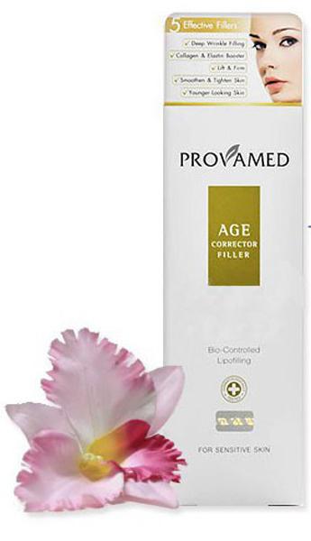 Provamed Антивозрастной корректор морщин (Age Corrector Filler), 30 гр.FS-36054Значительно сокращает возрастные изменения лица, восполняет потерю эластичности кожи. Входящие в состав ингредиенты способны заполнить появившиеся морщины и неровности на коже, выровнять ее в короткий период времени. Adipofill - комплекс с высокой дерматологической активностью (воздействует на глубокие слои кожи) способен бороться с признаками старения и направлен на омоложение кожи. При постоянном применении коллаген и эластин уменьшают проявление выраженных морщин, а также заметно подтягивают и делают кожу моложе. Экстракт Солероса травянистого активизирует в коже синтез Аквапорина 8, что влечет мгновенное увлажнение даже при сильной пересушенности. Экстракт Планктона, обеспечивает пролонгированный эффект лифтинга, действует против морщин - разглаживает мелкие и сокращает более глубокие, устраняет признаки усталости. Экстракт коры пробкового дуба защищает кожу от потери влаги, в комплексе с другими ингредиентами подтягивает кожу, заметно улучшает ее состояние.
