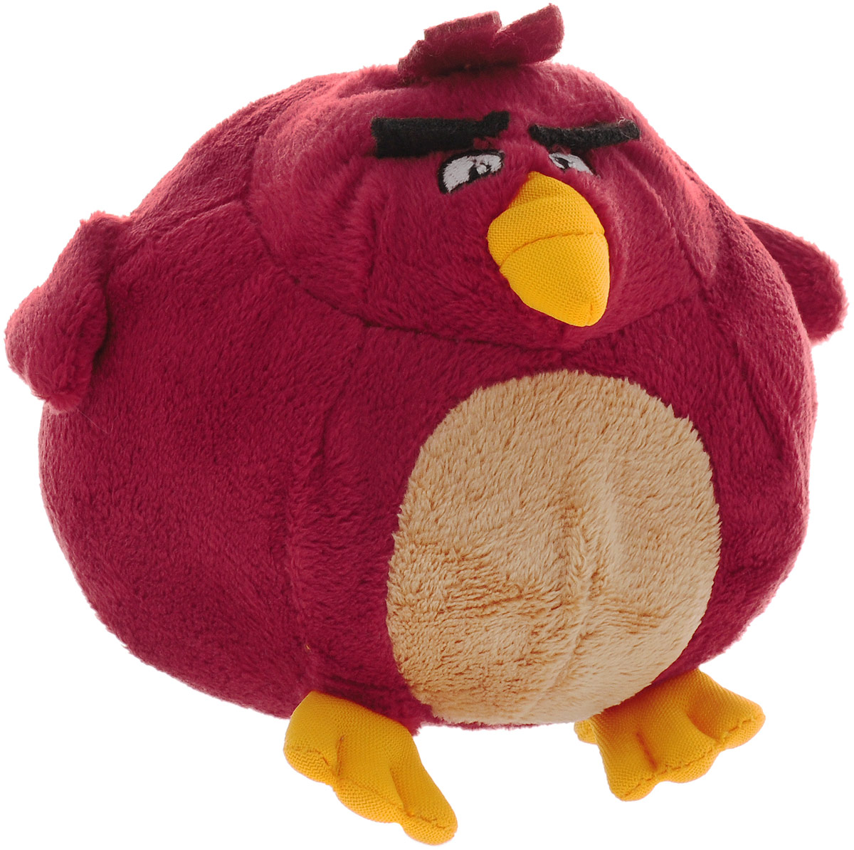 Angry Birds Мягкая игрушка Птица Terence 13 см angry birds мяг игр 20см желтая птица и игрушка подвеска с клипом 7см