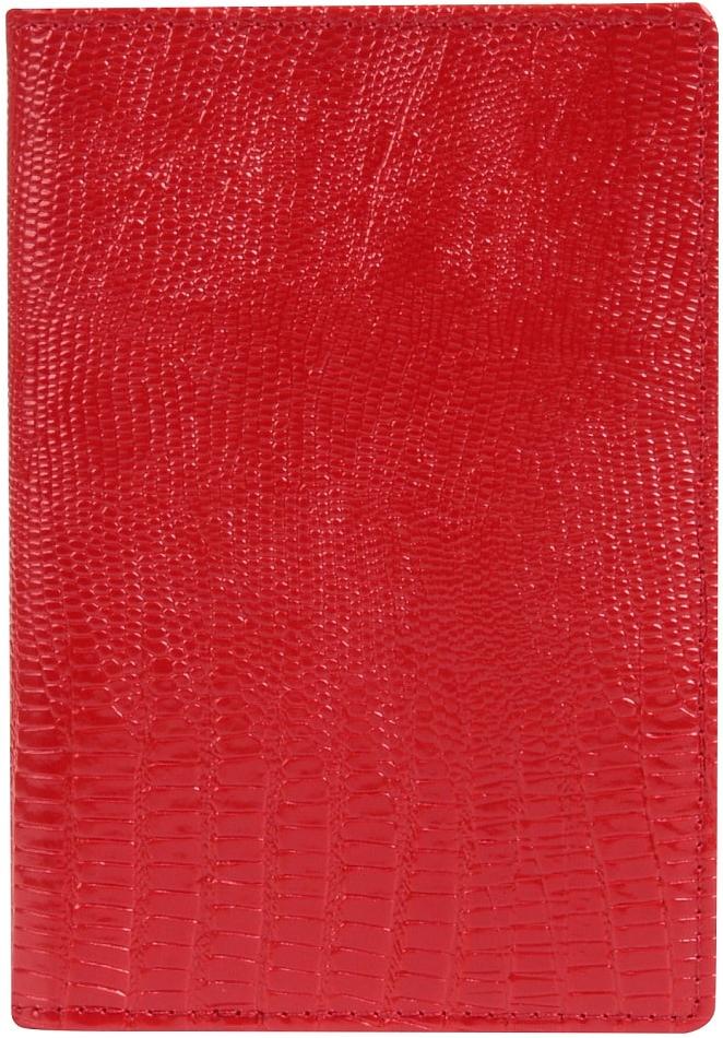 Обложка для паспорта женская Janes Story, цвет: красный. K-L-P193-12O.1.SG.черныйОбложка для паспорта Janes Story выполнена из натуральной кожи с тиснением. На внутреннем развороте 2 кармана из кожи и ПВХ, текстильная подкладка.