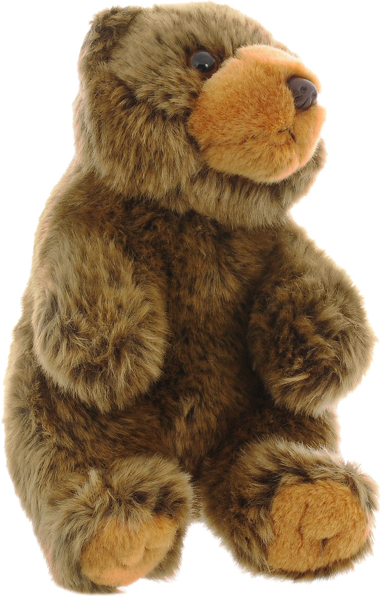 WWF Мягкая игрушка Бурый медведь 18 см wwf мягкая игрушка черепаха 30 см
