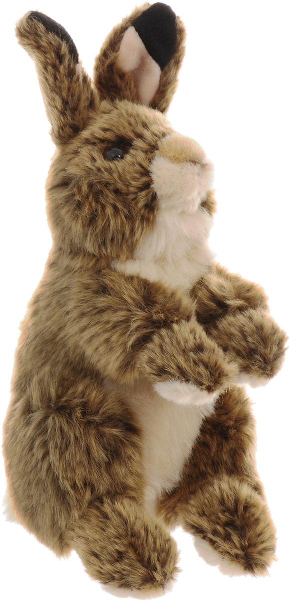 WWF Мягкая игрушка Кролик цвет коричневый 18 см wwf мягкая игрушка черепаха 30 см