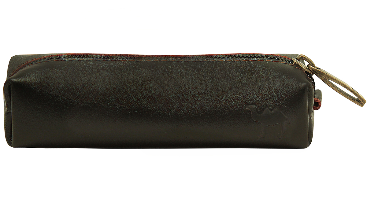 Ключница мужская Dimanche Сахара, цвет: черный. 768Серьги с подвескамиКлючница из натуральной кожи. Закрывается на молнию, внутри кольцо для ключей, без подкладки. Объемная, мягкая, вместительная.