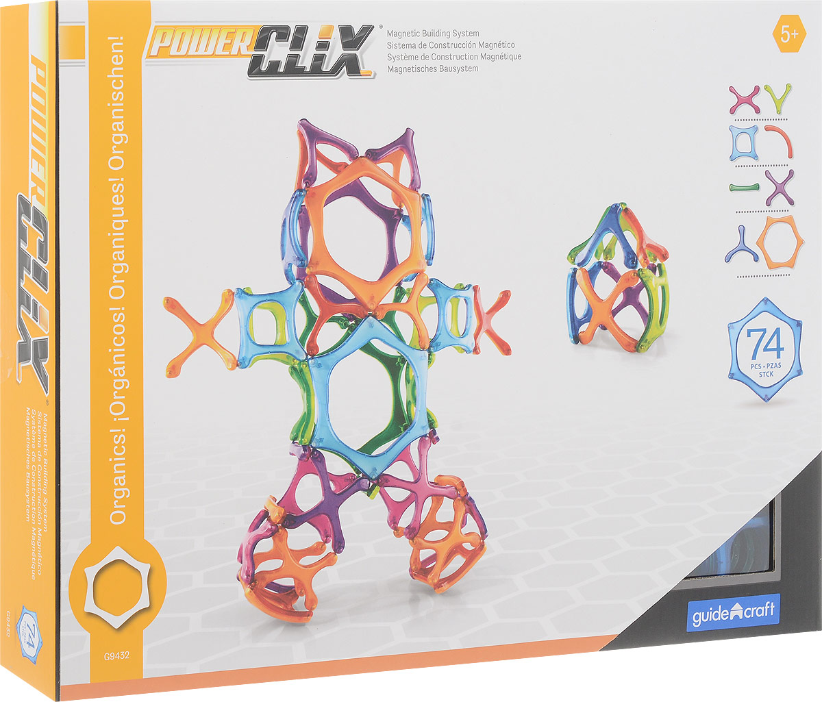 Guide Craft Конструктор PowerClix Organics G9432