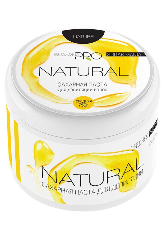 Sugaring Pro Сахарная паста Натуральная средняя плотность, 750 г15032029Универсальная паста средней плотности для удаления всех типов волос на любом учсатке тела. Сохраняет живые клетки кожи, удаляя только омертвевшие роговые чешуйки и волосы. Эффекта хватает на 3-4 недели