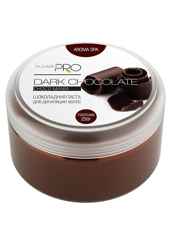 Sugaring Pro Сахарная паста Горький шоколад плотная, 250 г1301210Самая плотная сахарная паста для мануальной техники шугаринга темных жестких волос (от 3 мм). При удалении волос не травмирует живые клетки кожи и не вызывает раздражений. Рекомендуется для депиляции на участках кожи с повышенной влажностью и температурой (подмышки, область бикини), а также для работы в жарких, влажных и плохо кондиционируемых помещениях или для косметологов с горячими руками. Гипоаллергенна.