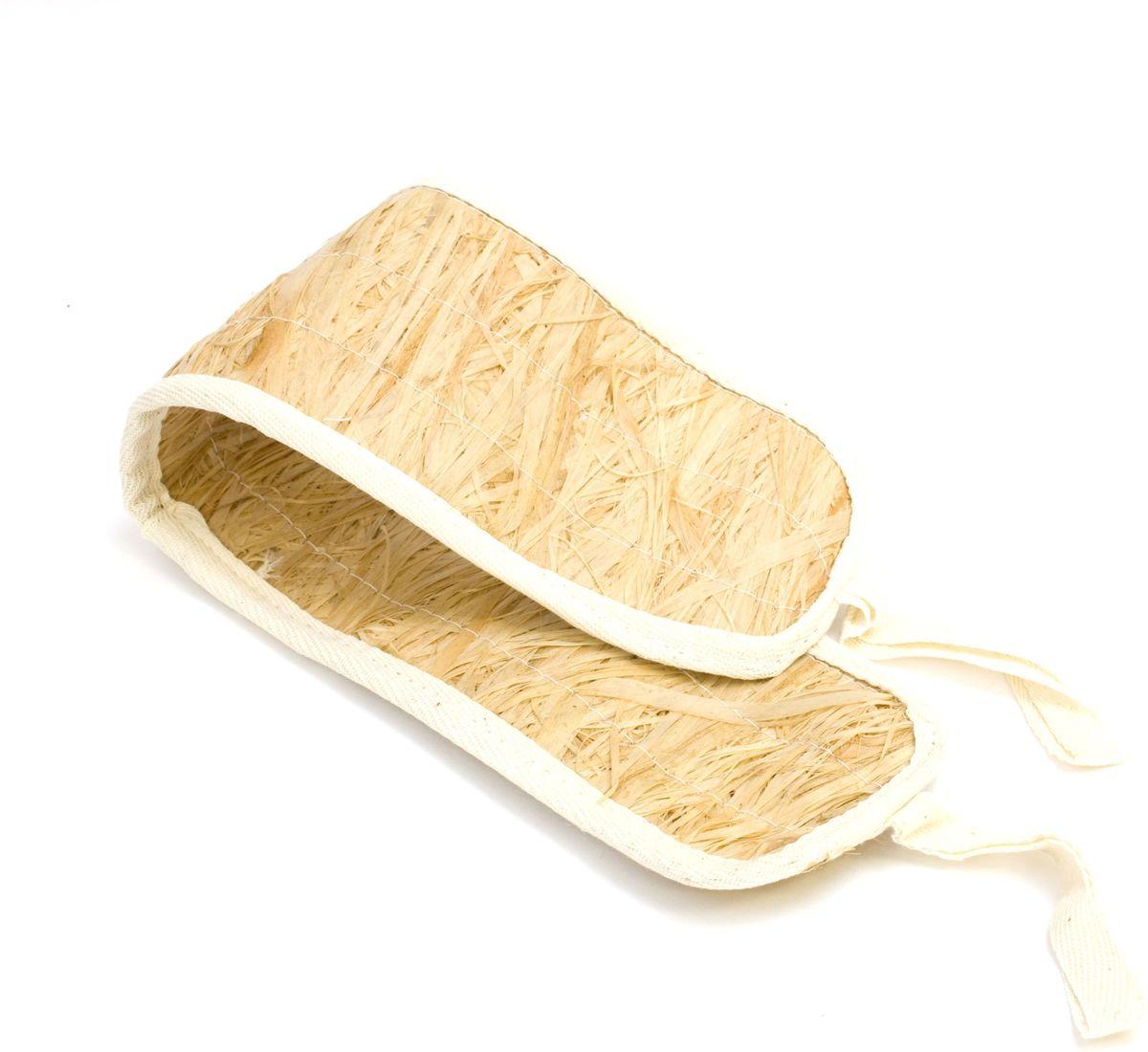 Мочалка Eva, лыковая, с ручками. М20Я28_желтый, розовый, белыйПри изготовлении мочалки используется натуральный природный материал - обработанный внутренний слой коры липы. При использовании мочалки волокна лыка выделяют фитонциды - лучшее средство для профилактики простудных заболеваний. Лыковая мочалка – стопроцентно природный и экологически чистый аксессуар для ухода за вашей кожей.