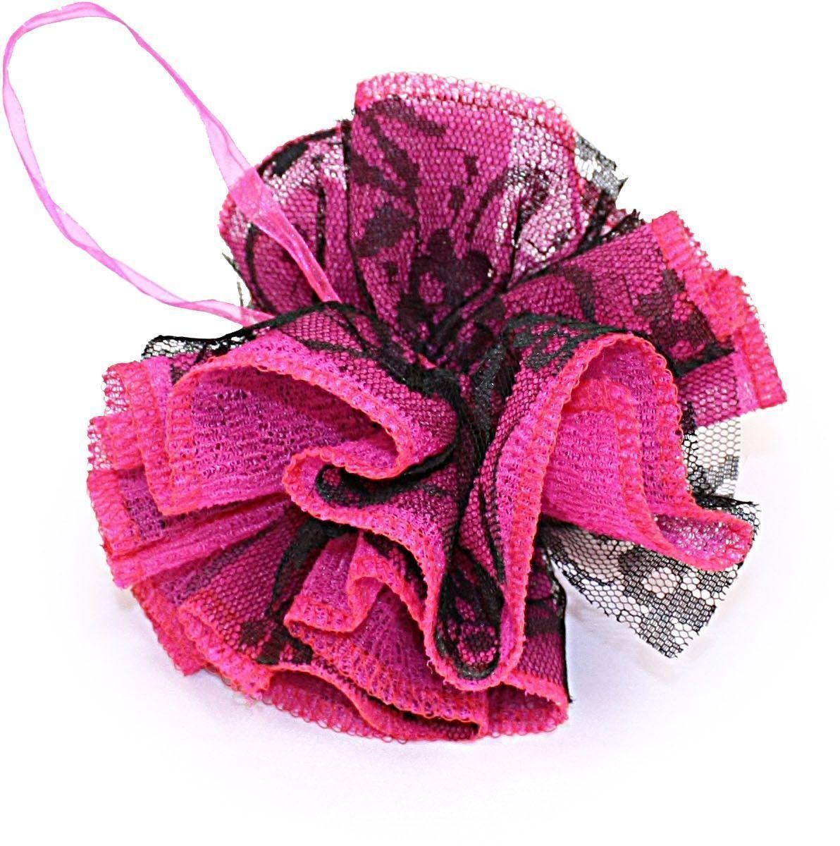 Мочалка Eva Бантик Ажур. Ladies. М346FM 5567 weis-grauНовый уникальный дизайн, отличное сочетание цветов.