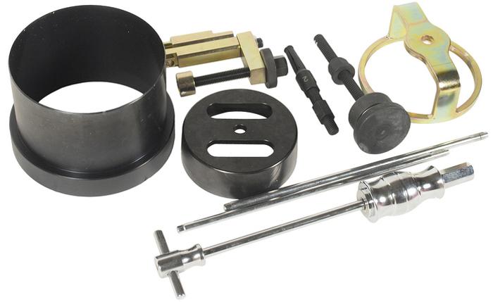 JTC Набор для снятия и установки коробки передач (BMW THMR1). JTC-1127CA-3505Специально предназначен для снятия и установки коробки передач марки THMR1 автомобилей БМВ (BMW). Габаритные размеры: -/-/- мм. (Д/Ш/В) Вес: - гр.
