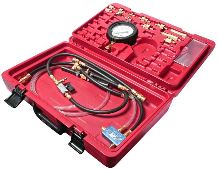 JTC Набор для тестирования инжекторов для автомобилей европейского производства. JTC-1225ECA-3505Комплект для проверки топливных систем позволяет диагностировать инжекторные системы на транспортных средствах большинства производителей и моделей. Точно определяет проблемы в фильтрах, линиях и регуляторах. Этот комплект поставляется с различными шлангами, разъемами и адаптерами и может использоваться как с самыми ранними моделями, так и с самыми современными. Набор подходит для большинства автомобилей европейского производства. В комплект входят разъемы и адаптеры из №1225. № модели: A, AC, C, D, G, F, Mx2, H, J, HA, I, L, Kx2, KA, KB, KC, B, RK, и IM. Аналогичен комплекту JTC-1225. Упаковка: прочный переносной кейс. Количество в оптовой упаковке: 6 шт. Габаритные размеры: 450/260/100 мм. (Д/Ш/В) Вес: 3150 гр.
