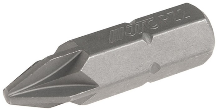 JTC Вставка 5/16DR позидрайв PZ.2х30 мм. JTC-12A3002CA-3505Размер: 2 х 30 мм.Квадрат: 5/16 DR.Материал: S2 сталь.Тип: PZ.